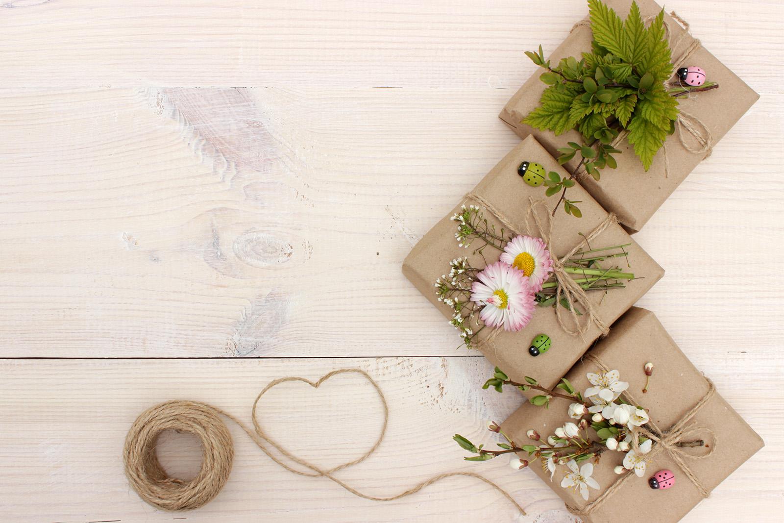 eco friendly wedding favour boxes
